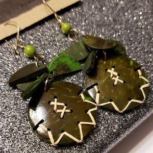 Jewelry - 🎈Unique Eco Friendly Handmade Wood Earrings